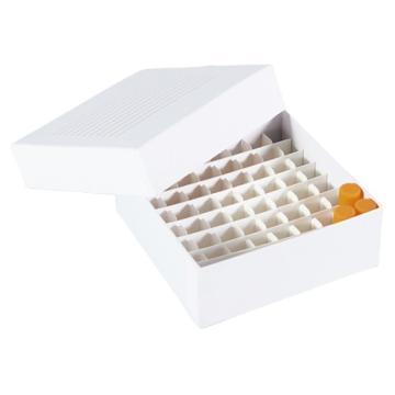 亚速旺经济型纸制冷冻盒 12只/袋 64支