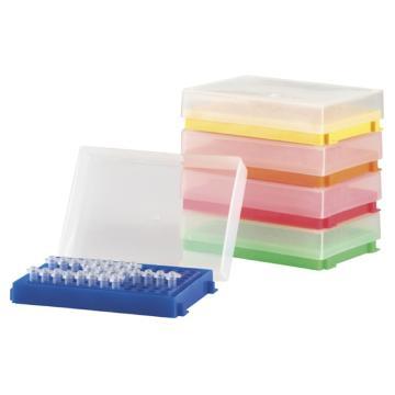 亚速旺96孔PCR支架 透明 1套(5个)