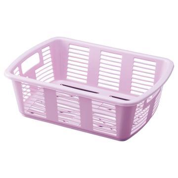 亚速旺 塑料筐 GDDB-100P 粉紫色 (1个入),8-5957-03