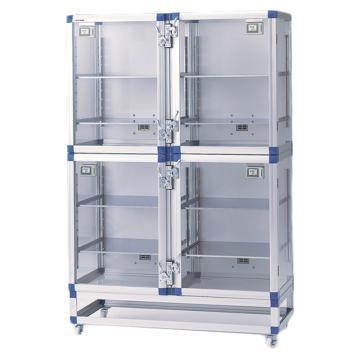 亚速旺 自动防潮箱(各室独立) 备用搁板 强化塑料制,1-987-11