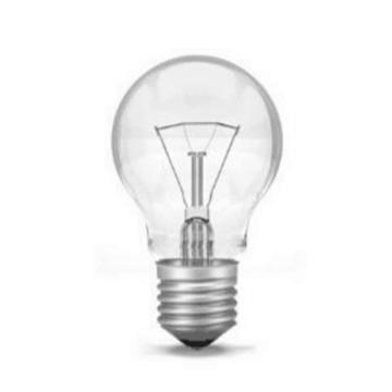 白炽灯泡,12V,60W,E27,球形,100个/箱,单位:箱