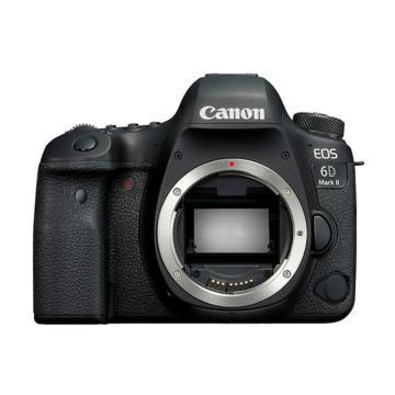 佳能Canon 数码单反相机,全画幅(约2620万像数)EOS 6D Mark II 机身 (不含镜头)