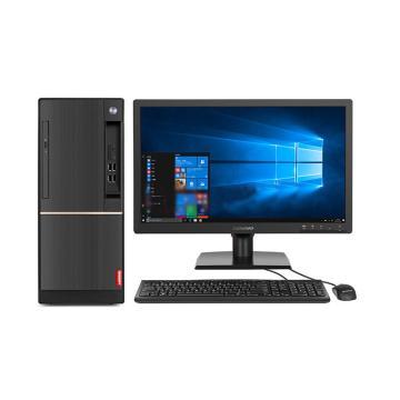 联想台式机,扬天T4900D I5-7400/8G/1TB/集显/无光驱/Windows 10 家庭版 3年/21.5显示器 套机