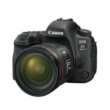 佳能Canon 数码单反相机,全画幅(约2620万像数)EOS 6D Mark II(EF 24-70mm f/4L IS USM 镜头)