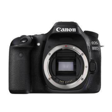 佳能Canon 数码单反相机,半画幅(约2420万像数)EOS 80D 机身 (不含镜头)