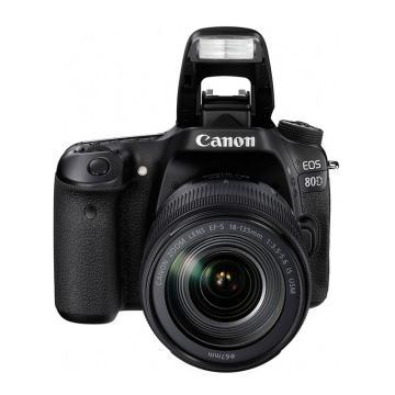 佳能Canon 数码单反相机,半画幅(约2420万像数)EOS 80D(EF-S 18-135mm f/3.5-5.6 IS USM镜头)