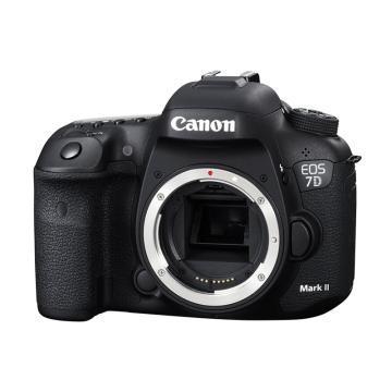 佳能Canon 单反相机 半画幅约2020万像数 EOS 7D Mark II 机身(不含镜头)(含Wi-Fi适配器 W-E1)