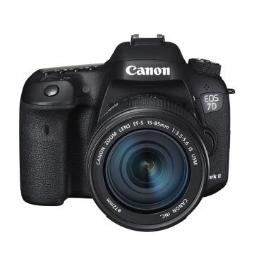 佳能Canon 单反相机,半画幅约2020万像数 7D Mark II(EF-S 15-85mm f/3.5-5.6 IS USM) 含 W-E1
