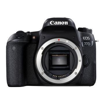 佳能Canon 数码单反相机,半画幅(约2420万像数)EOS 77D 机身 (不含镜头)