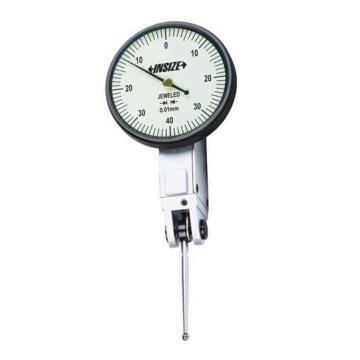 英示 长测针杠杆百分表,0.8*0.01mm,2383-08A
