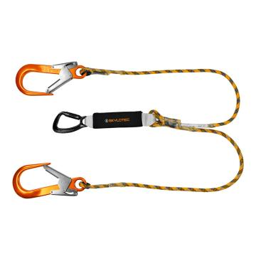 斯泰龙泰克SKYLOTEC 双头大钩缓冲绳,L-0103-1.5,1.5米
