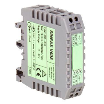 德国高美测仪/GMC-I 可编程温度变送器,SINEAX V608