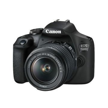 佳能Canon 数码单反相机,半画幅(约2410万像数)EOS1500D(EF-S 18-55mm f/3.5-5.6 IS II)