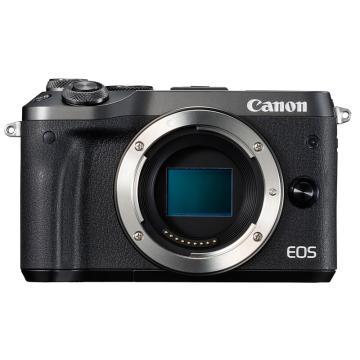 佳能Canon 数码微单相机,半画幅专微(约2420万像数)EOS M6(机身)(不含镜头)