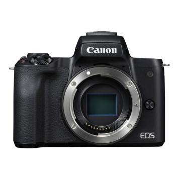 佳能Canon 数码微单相机,半画幅专微(约2410万像数)EOS M50(机身)(不含镜头)黑 白