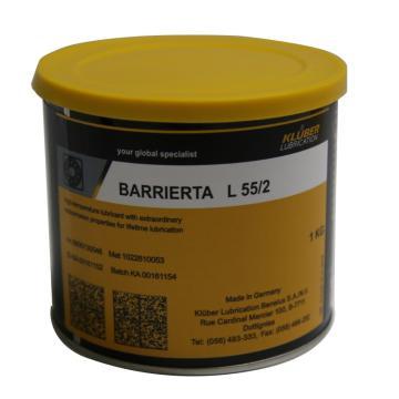 克鲁勃 高温润滑脂,Barrierta L55/2,1KG/罐