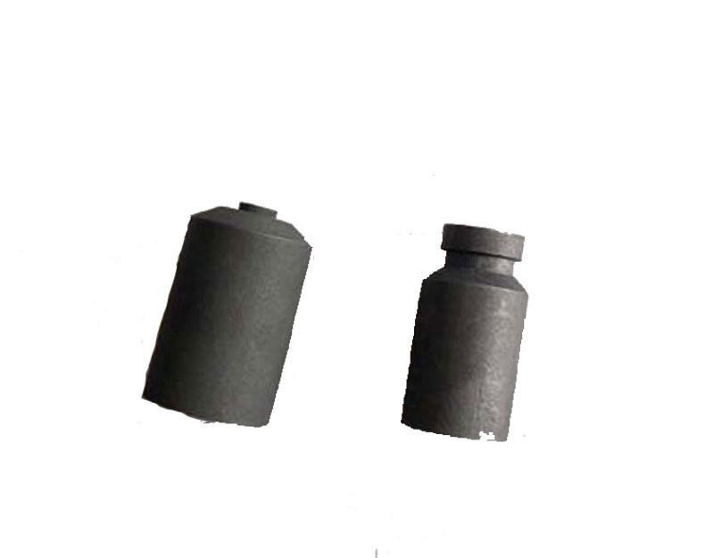 西域推荐石墨套外坩埚套筒,(适用于金银熔炼加工实验用),15*24.3MM