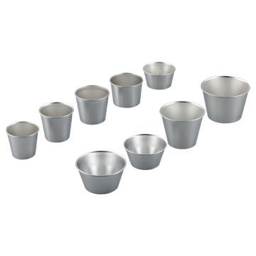 亚速旺(ASONE)不锈钢样品杯 #1(1个),2-9363-01