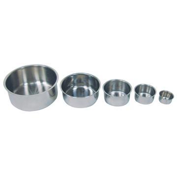 亚速旺(ASONE)实验室用经济型不锈钢碗 TB-05(1个),CC-4626-05