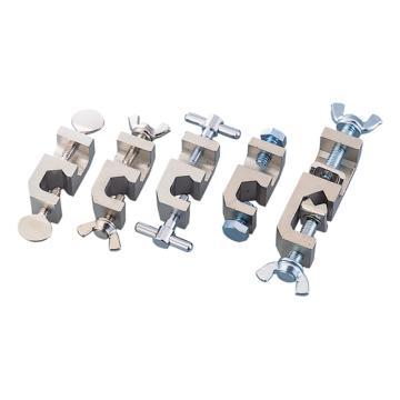 亚速旺(ASONE)方形固定夹 平头螺钉(1个),1-9788-01