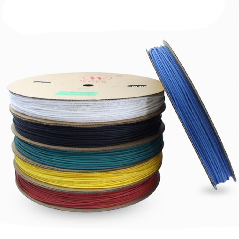 沃尔核材WORE 绿色热缩管,4mm,200m/盘