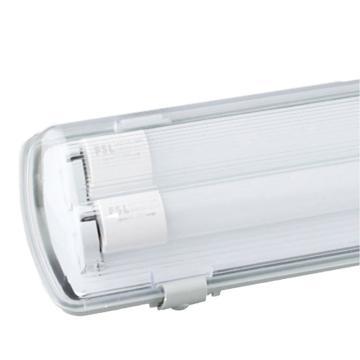 佛山照明 LED T8三防灯,长0.6米 双管 炫丽系列 不含灯管 ,适配2pcs双端输入LED T8灯管,单位:个