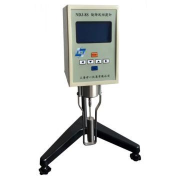 右一 旋转粘度计,支持连接电脑和在线测液体温度,NDJ-8S(包含传感器、数据线和软件)