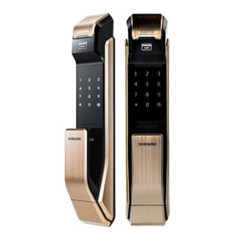 三星 智能电子门锁,718,金色