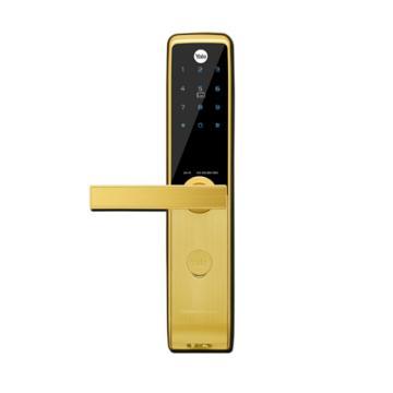 耶鲁 智能电子门锁,ZEN-R,金色