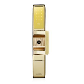 耶鲁 智能电子门锁,沃肯-F,金色