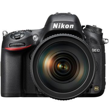 尼康D610 24-120 入门级全画幅套机,单反数码照相机,(AF-S 24-120mm f/4G ED VR)
