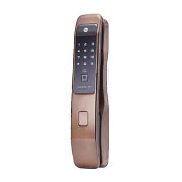 耶鲁 智能电子门锁,YMI-70,棕色