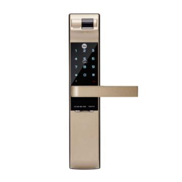 耶鲁 智能电子门锁,7116,金色