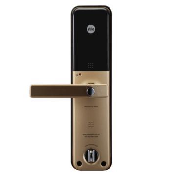 耶鲁 智能电子门锁,YDM-7111,金色