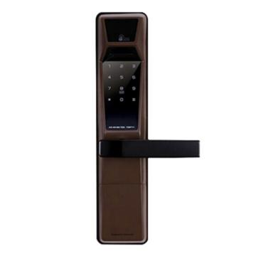 耶鲁 智能电子门锁,YDM-4111,棕色