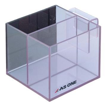 亚速旺(ASONE)透明收纳筐(BOX型) 100X80MF(1个装),2-7880-01