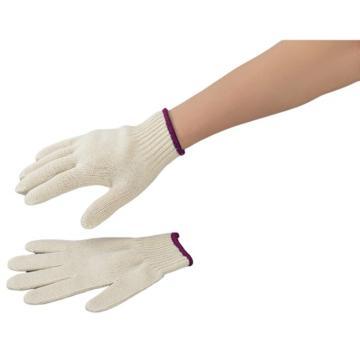 亚速旺实验室用手套全棉 750g(紫边) 12双/打