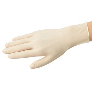 亚速旺实验室用ASONE无菌乳胶手套(无粉)M 1双/50袋