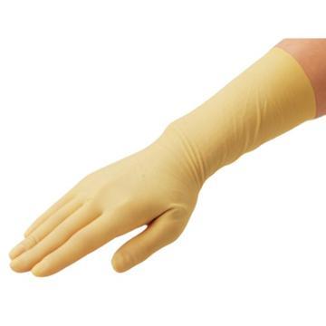 亚速旺实验室用无尘室用乳胶手套(无粉) L 50双/盒
