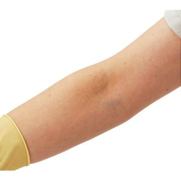 亚速旺实验室用无尘室用乳胶手套(无粉/压纹)1000 L 1盒(50只X2袋)