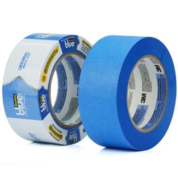 3M 美纹纸胶带, 2090 蓝色 48mm*55m