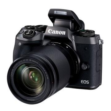 佳能Canon 數碼微單相機,半畫幅專微(約2420萬像數)EOS M5 (18-150)