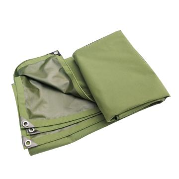 西域推薦 單面涂膠防雨帆布,2*3m,包角包邊,厚度:0.76(±0.05)mm