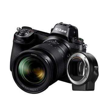 尼康Z6 24-70mm f/4套機+FTZ轉接環,全畫幅 微單相機 Z6套機(約2,450萬有效像素 連拍12幅/秒 )