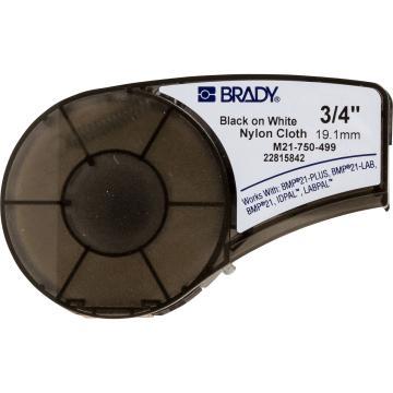 """贝迪BRADY BMP21耗材,B499,0.750""""×16',白底黑字,110895"""