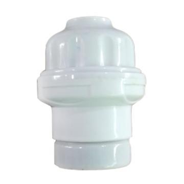 吊灯头 陶瓷灯头 螺口灯头 E27 外圈塑料内圈陶,单位:个