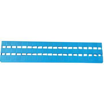 福樂席藍色地板磚邊條, WD020002 0.6m*0.12m