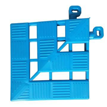 福樂席 藍色地板磚轉角,WD020003 0.12m*0.12m