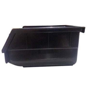 佰斯特 黑色塑料料盒 中型 190×105×75 ES