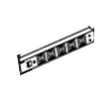 佰斯特 定制M900型钢制5位单漏保电源盒(斜面悬挂型)